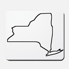 New York Outline Mousepad