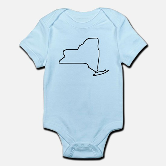 New York Outline Body Suit