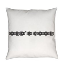 Vintage Motorcycle-Old's Cool! Everyday Pillow