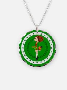 Irish Dancing Necklace