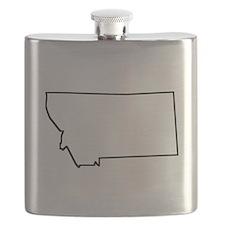 Montana Outline Flask