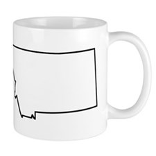 Montana Outline Mugs