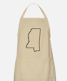 Mississippi Outline Apron