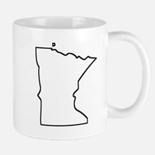 Minnesota Outline Mugs