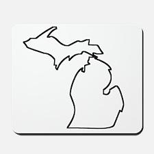 Michigan Outline Mousepad