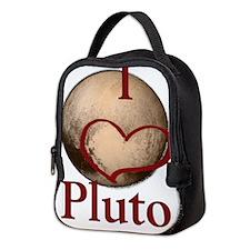 I heart Pluto Neoprene Lunch Bag