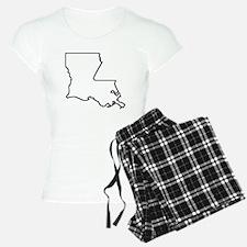 Louisiana Outline Pajamas