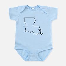 Louisiana Outline Body Suit
