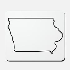 Iowa Outline Mousepad