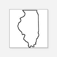 Illinois Outline Sticker