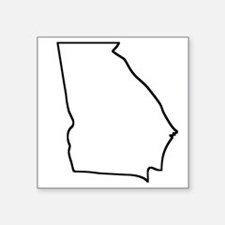 Georgia Outline Sticker