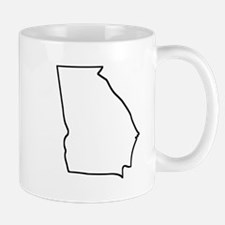 Georgia Outline Mugs