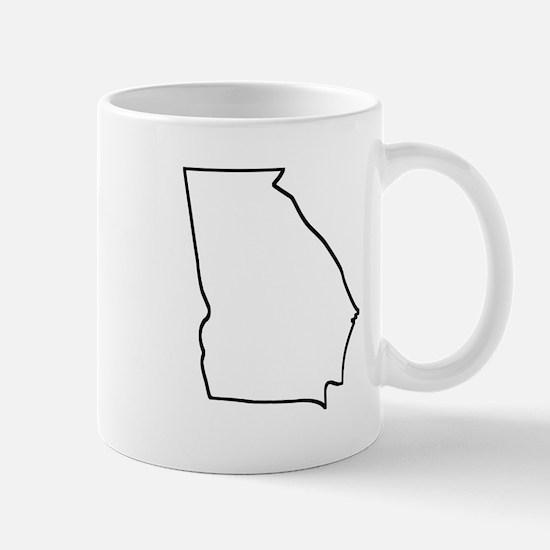 Georgia Outline Mugs
