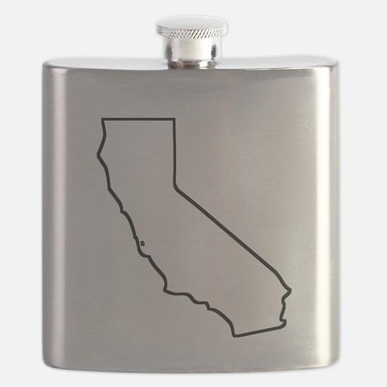 California Outline Flask