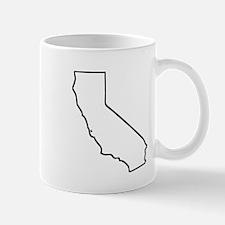 California Outline Mugs