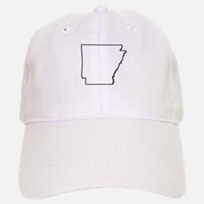 Arkansas Outline Baseball Baseball Baseball Cap