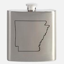 Arkansas Outline Flask