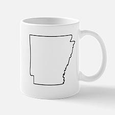 Arkansas Outline Mugs