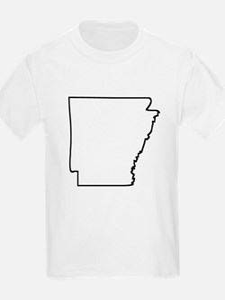 Arkansas Outline T-Shirt