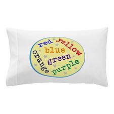 Color Chart Pillow Case