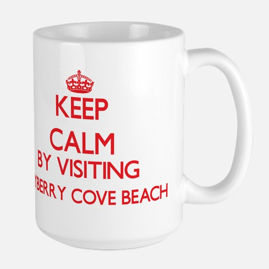 Keep calm by visiting Bayberry Cove Beach New Mugs