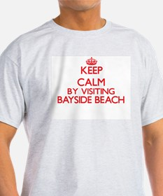 Keep calm by visiting Bayside Beach Maryla T-Shirt