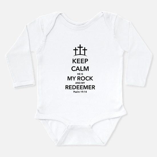 My Redeemer Long Sleeve Infant Bodysuit
