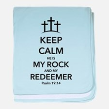 My Redeemer baby blanket