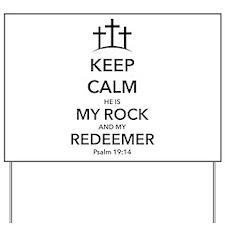 My Redeemer Yard Sign