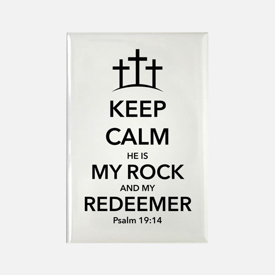 My Redeemer Rectangle Magnet (100 pack)