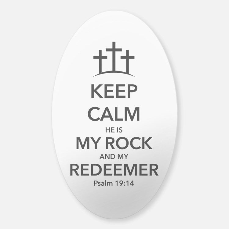 My Redeemer Decal