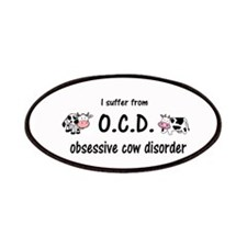 Obsessive Cow Disorder Patch