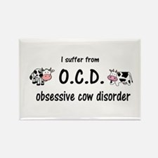 Obsessive Cow Disorder Magnets