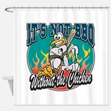 Chicken BBQ Shower Curtain