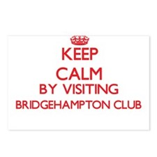 Keep calm by visiting Bri Postcards (Package of 8)