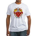 Bastos Family Crest Fitted T-Shirt
