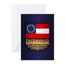 Louisiana Proud Descendant Greeting Cards