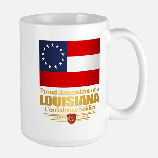 Louisiana Proud Descendant Mugs