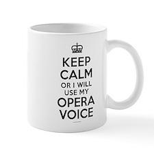 Keep Calm Opera Voice Mugs