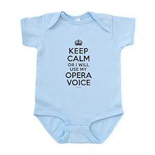 Keep Calm Opera Voice Body Suit