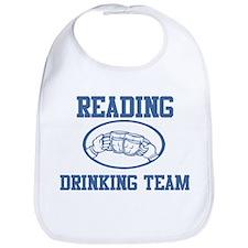 READING drinking team Bib