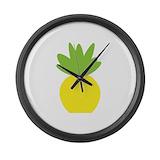 Pineapple Giant Clocks