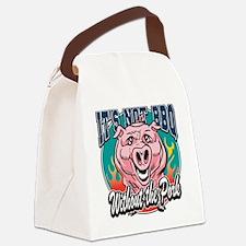 BBQ Pork Canvas Lunch Bag