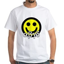 White ABGD T-Shirt