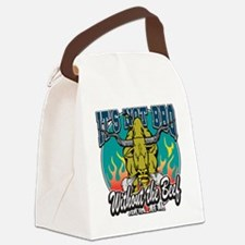 BBQ Beef Canvas Lunch Bag