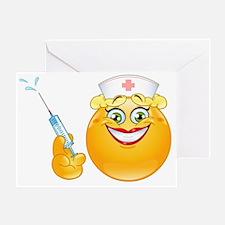 nurse emoji Greeting Card
