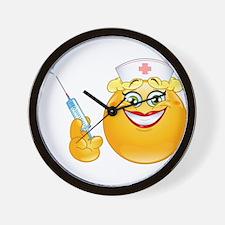 nurse emoji Wall Clock