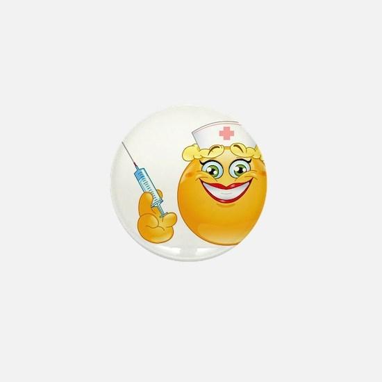 nurse emoji Mini Button