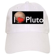 Cute I heart pluto Baseball Cap