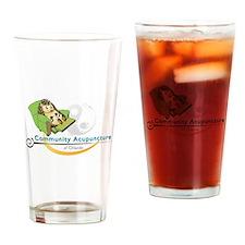 Hedgehog Logo Drinking Glass